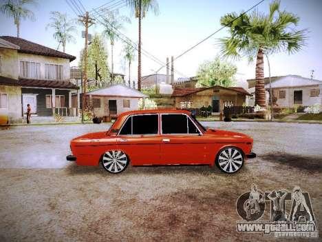 Vaz 2106 Fanta for GTA San Andreas left view
