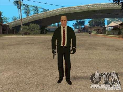 Hitman: Codename 47 for GTA San Andreas