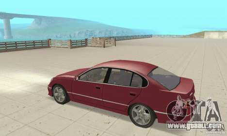 Lexus GS430 1999 for GTA San Andreas right view