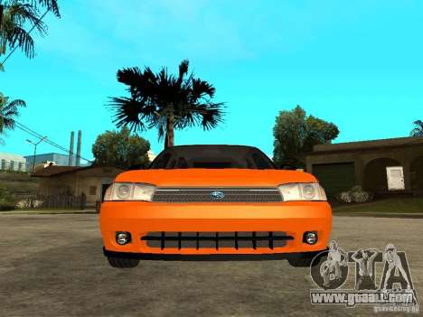 Subaru Legacy 250T 1997 for GTA San Andreas right view