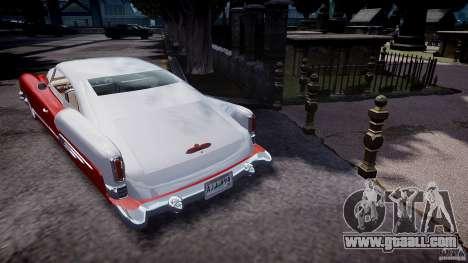 Buick Custom Copperhead 1950 for GTA 4 back left view