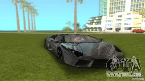 Lamborghini Reventon for GTA Vice City back view
