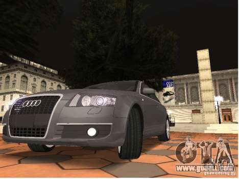 Audi A6 for GTA San Andreas right view