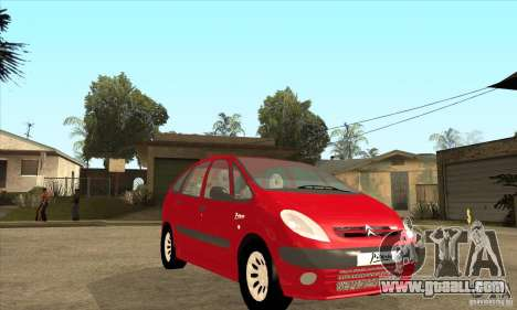 Citroen Xsara Picasso for GTA San Andreas
