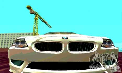 BMW Z4 E85 M for GTA San Andreas right view
