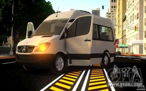 Mercedes-Benz Sprinter Passenger for GTA 4