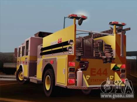 Seagrave Marauder II BCFD Engine 44 for GTA San Andreas upper view