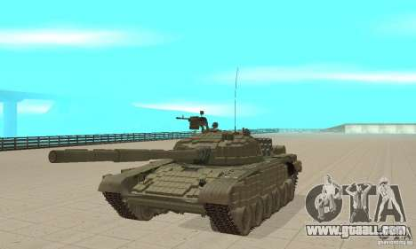 Tank t-72B for GTA San Andreas