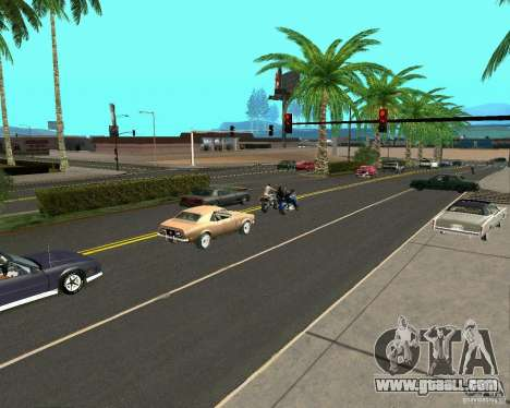 GTA 4 Road Las Venturas for GTA San Andreas second screenshot