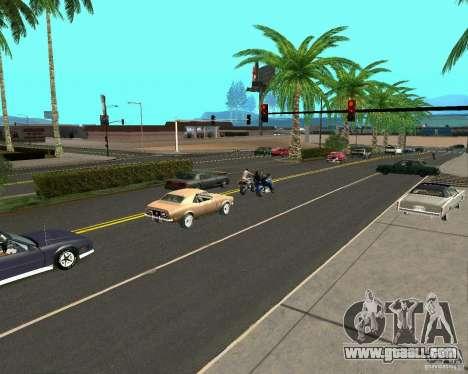 GTA 4 Road Las Venturas for GTA San Andreas second screenshot