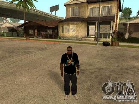 T-shirt Nike for GTA San Andreas second screenshot