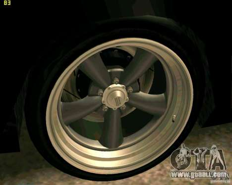 Hotring Racer Tuned for GTA San Andreas wheels
