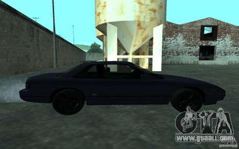 Nissan Onevia (Silvia) S13 for GTA San Andreas left view
