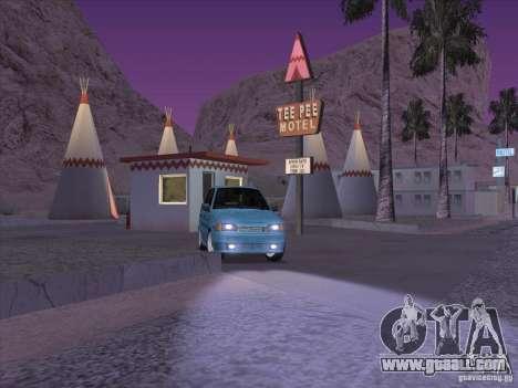 ВАЗ 2114 Casino for GTA San Andreas back view