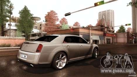 Chrysler 300C V8 Hemi Sedan 2011 for GTA San Andreas inner view