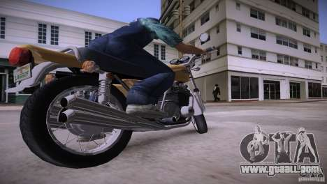 Kawasaki Z1 1975 for GTA Vice City right view