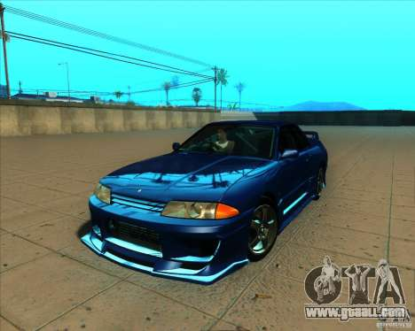 Nissan Skyline GT-R R32 1993 Tunable for GTA San Andreas bottom view