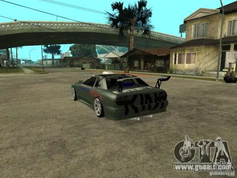 Vinyl on the Elegy for GTA San Andreas forth screenshot