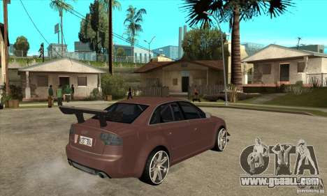 Audi RS4 2006 v2 for GTA San Andreas right view
