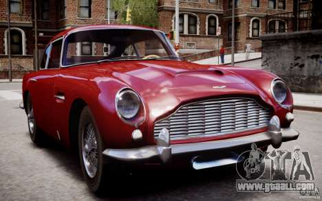 Aston Martin DB5 1964 for GTA 4 bottom view