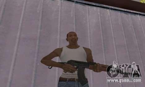 Akms for GTA San Andreas second screenshot