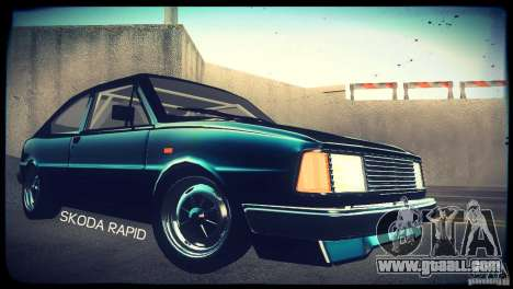 Skoda Rapid for GTA San Andreas