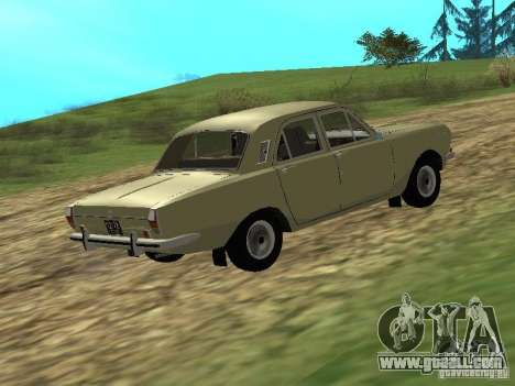 GAZ 24-01 for GTA San Andreas back left view