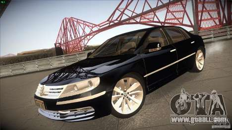 Volkswagen Phaeton W12 for GTA San Andreas back left view