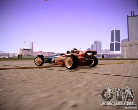 Track Mania Stadium Car for GTA San Andreas right view