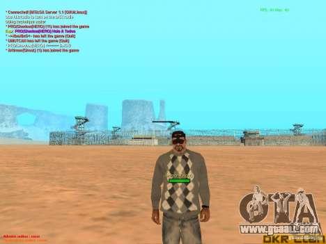 NV Goggles for GTA San Andreas forth screenshot