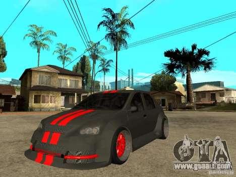 Dacia Logan Tuned for GTA San Andreas