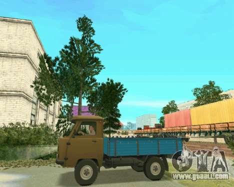 UAZ 3303 for GTA San Andreas left view
