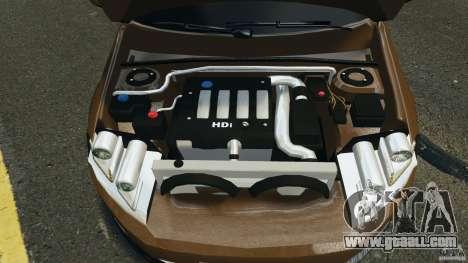 Volkswagen Passat Variant B7 for GTA 4 back view
