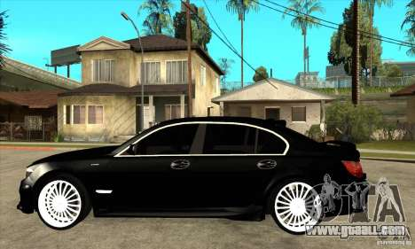 BMW 7-er F02 HAMANN 2010 for GTA San Andreas left view