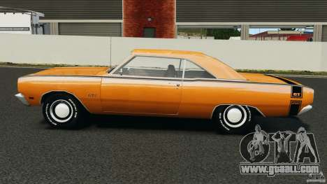 Dodge Dart GTS 1969 for GTA 4 left view