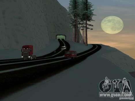 Winter for GTA San Andreas sixth screenshot