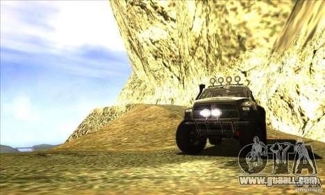 Dodge Ram All Terrain Carryer for GTA San Andreas side view