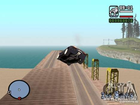 Travel over the Ocean (Beta version) for GTA San Andreas third screenshot