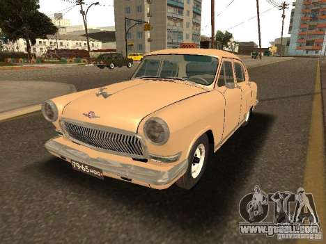 GAZ 21 Volga Taxi for GTA San Andreas