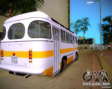 Paz-672 for GTA Vice City back left view