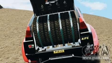 Mitsubishi Pajero Evolution MPR11 for GTA 4 back view