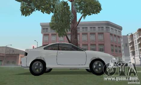 Toyota Celica GT4 2000 for GTA San Andreas right view