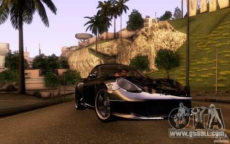 Ruf RK Coupe V1.0 2006 for GTA San Andreas interior