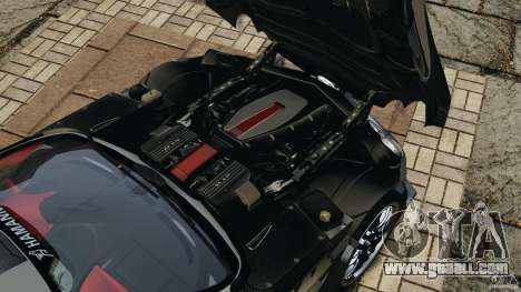 Mercedes-Benz SLR Volcano 2008 Hamann v1.0 for GTA 4 inner view