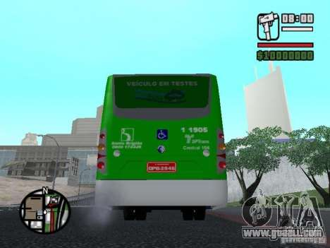 H Hibrido TUTTO 15M UPB C2 EX DR for GTA San Andreas back left view