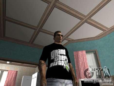 The t-shirt GTA 5 for GTA San Andreas second screenshot