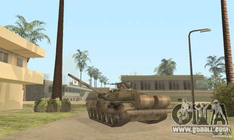 T-90A for GTA San Andreas right view