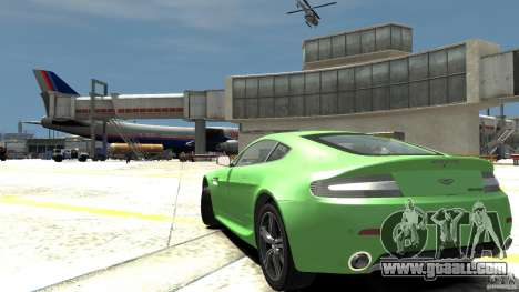 Aston Martin V8 Vantage N400 for GTA 4 back left view