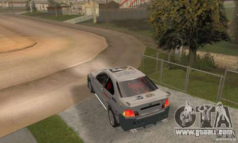 BMW M3 Hamman Street Race for GTA San Andreas left view