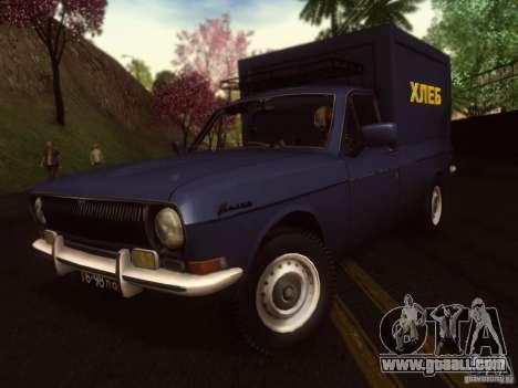 GAZ 24-12 bread van for GTA San Andreas